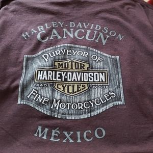 HARLEY-DAVIDSON destination and riding shirt  2XL